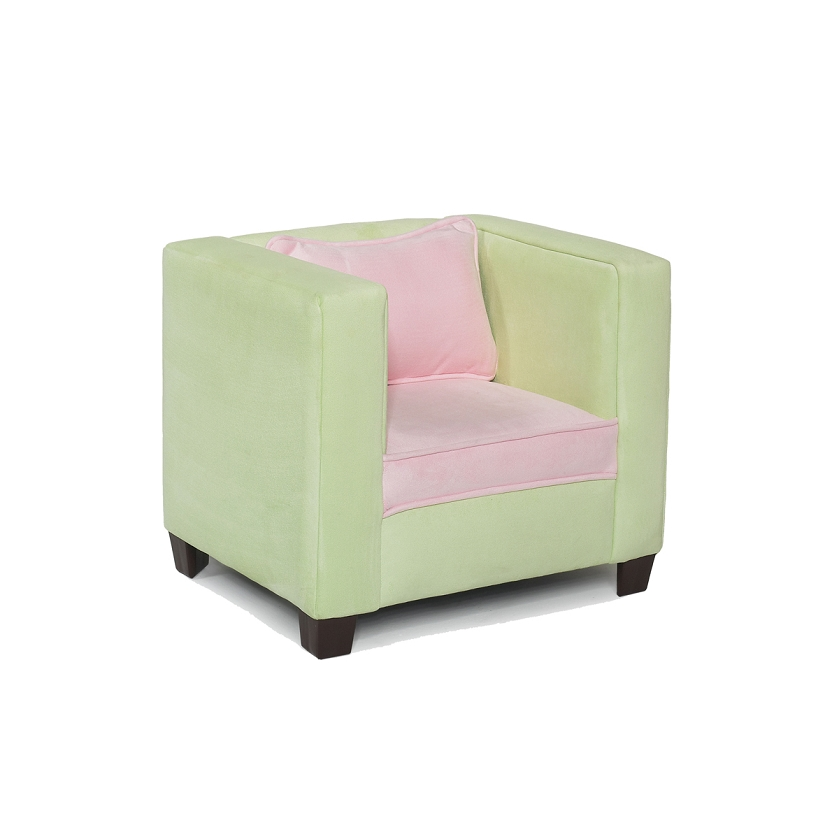 Awesome Modern Kids Chair Lime With Pink Creativecarmelina Interior Chair Design Creativecarmelinacom
