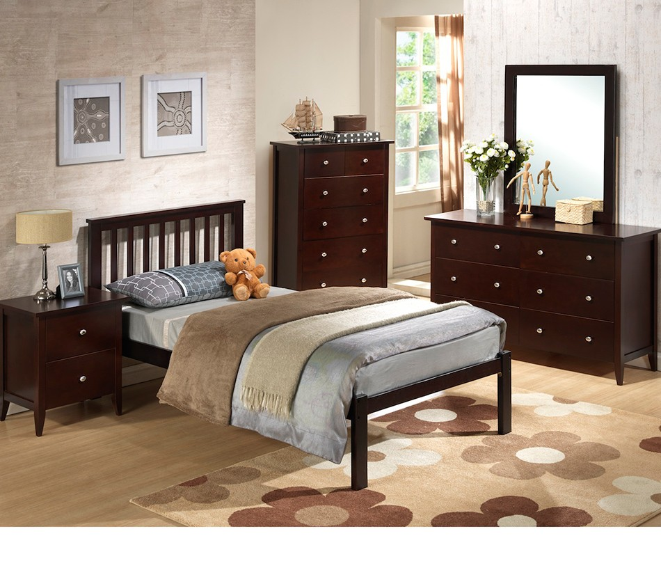 Najarian Nba Youth Bedroom In A Box: 920Te In Twin Or Full Size Bed