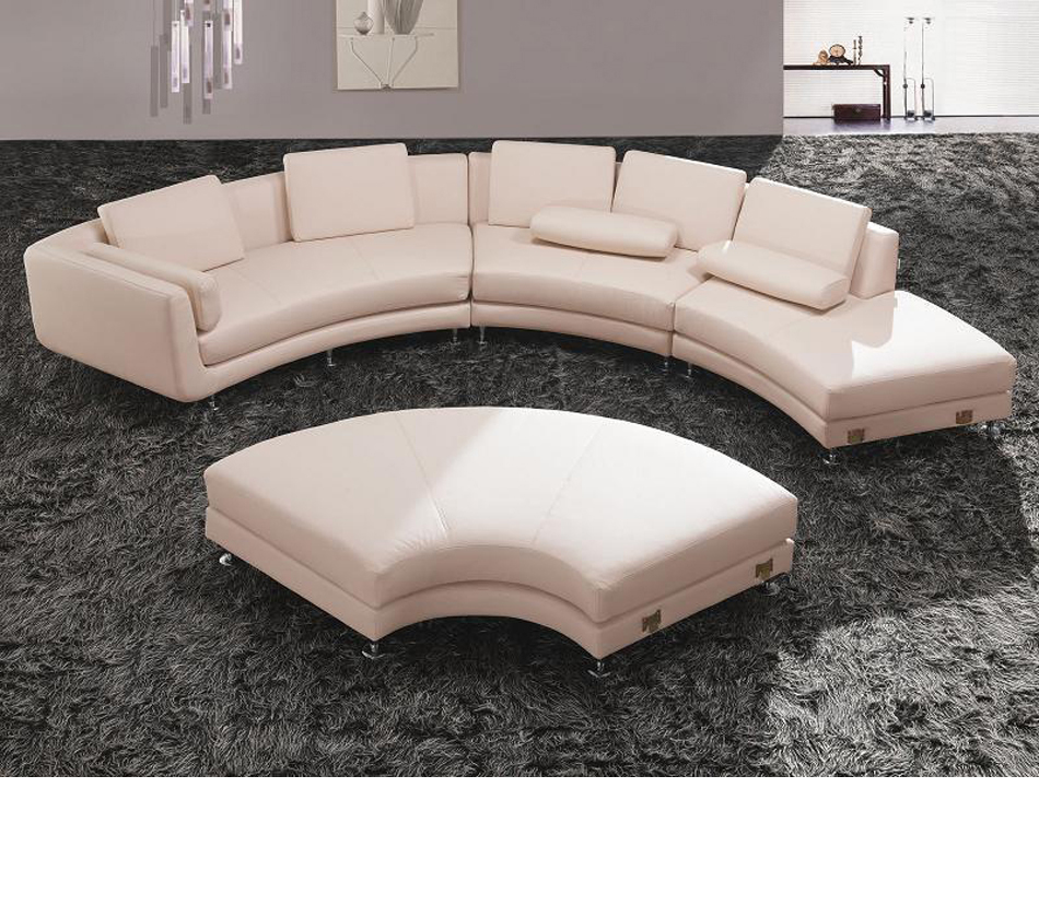 Divani casa a94 contemporary bonded for Sofa ottomane