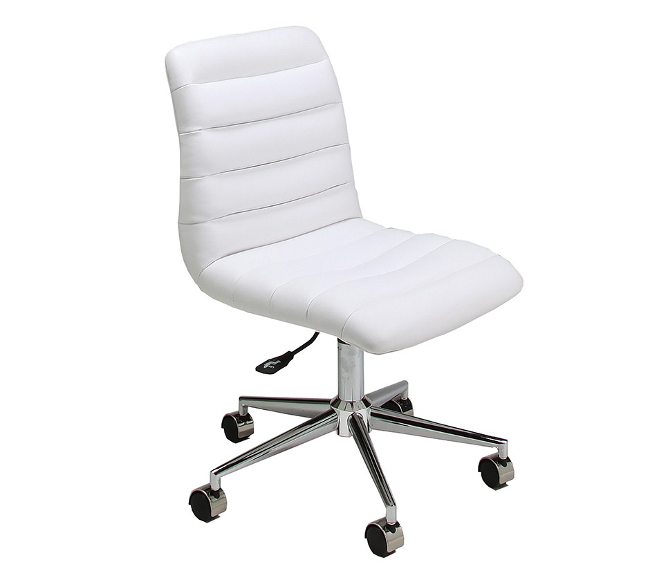 hawthorne office chair in chrome