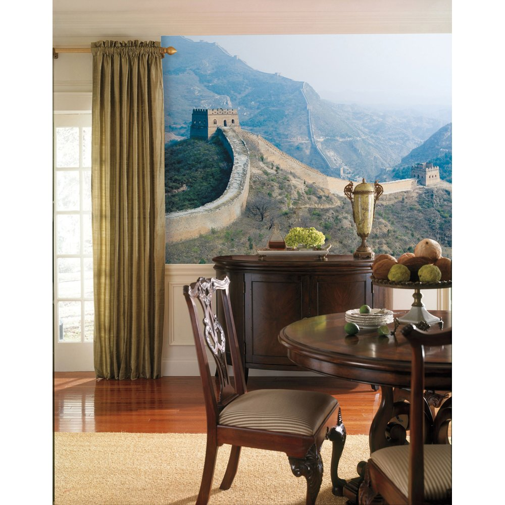 The Great Wall Chair Rail Prepasted