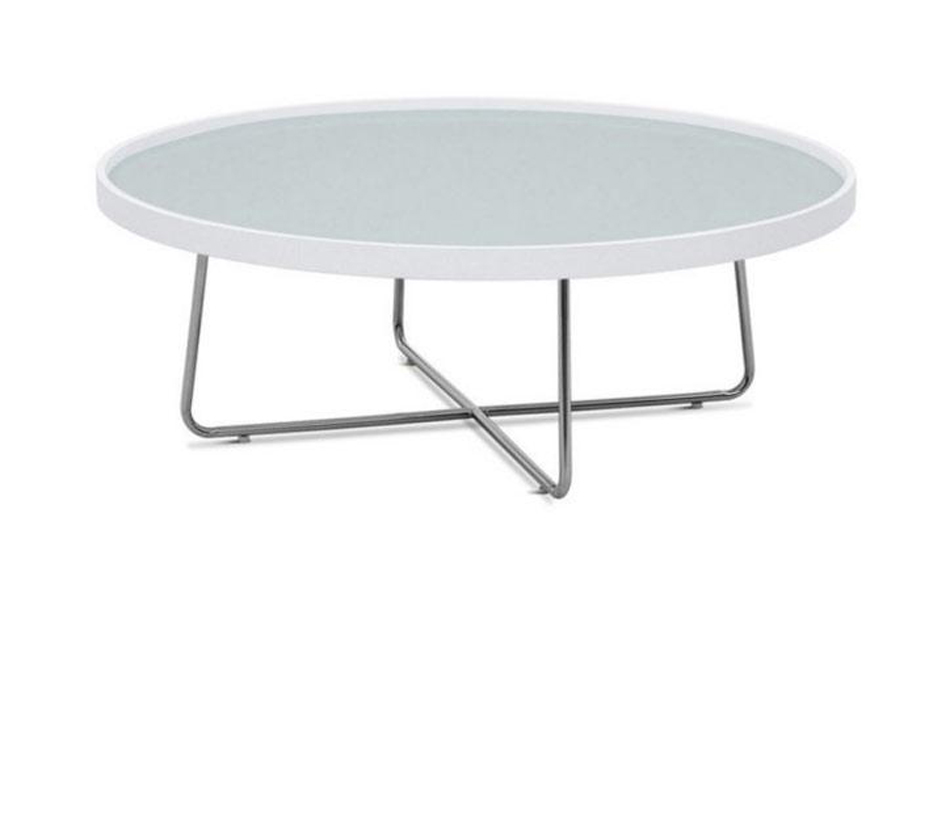 213e Modern White Coffee Table