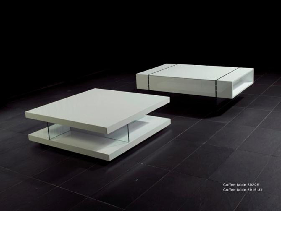 8916 White High Gloss Coffee Table