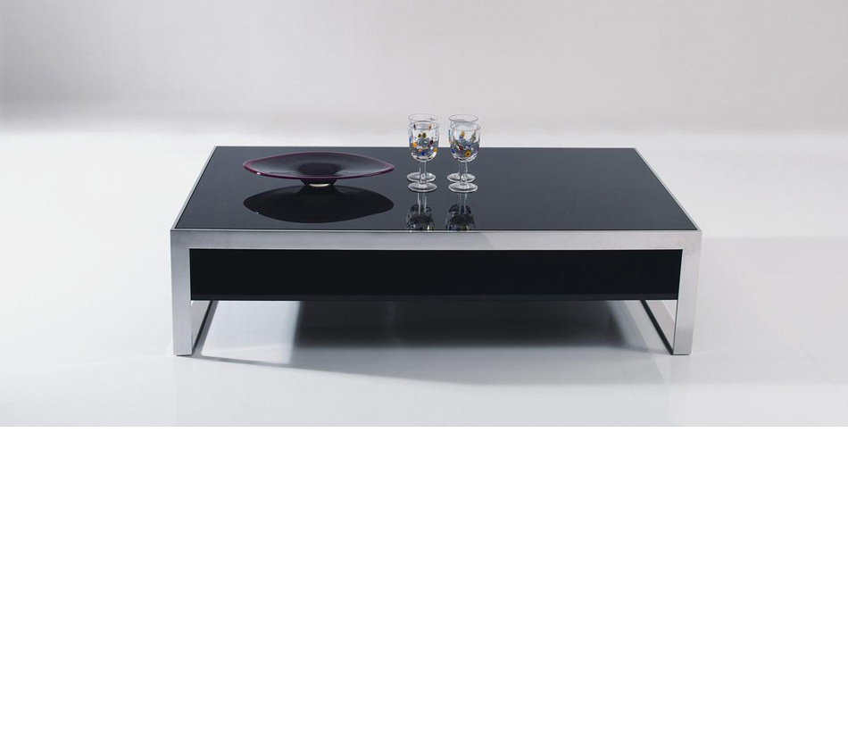 Dreamfurniturecom b131d modern ebony lacquer coffee table for Lacquer coffee table