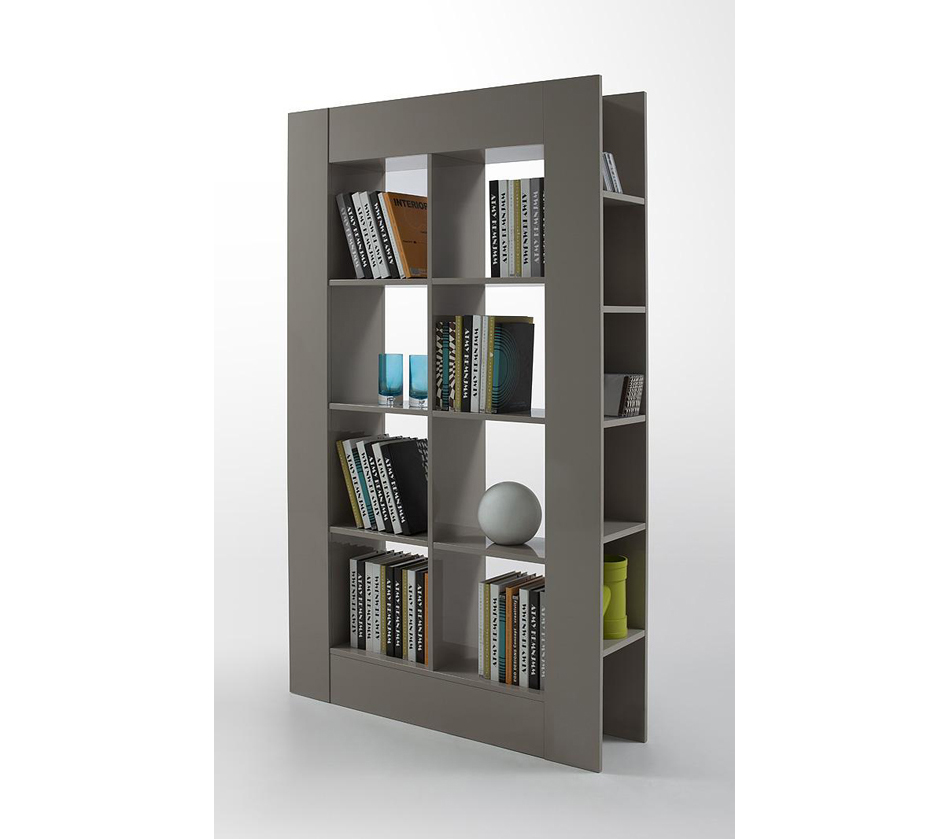 Dreamfurniture Com Modern Grey Lacquer Room Divider