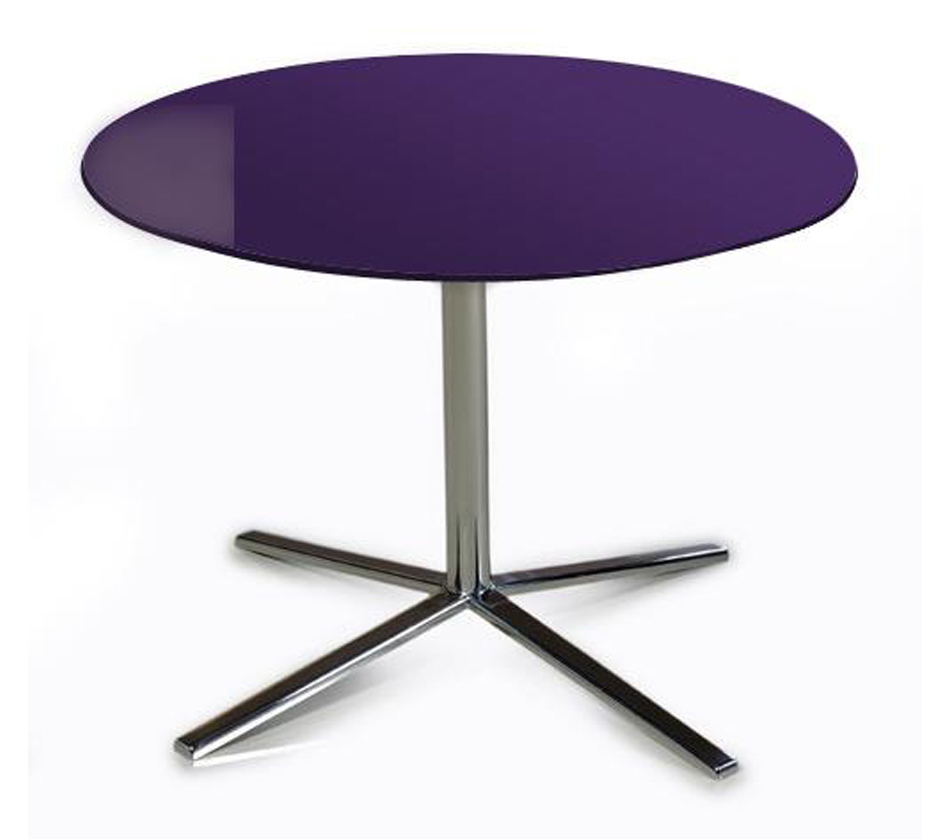 T48a purple end table for Purple coffee table