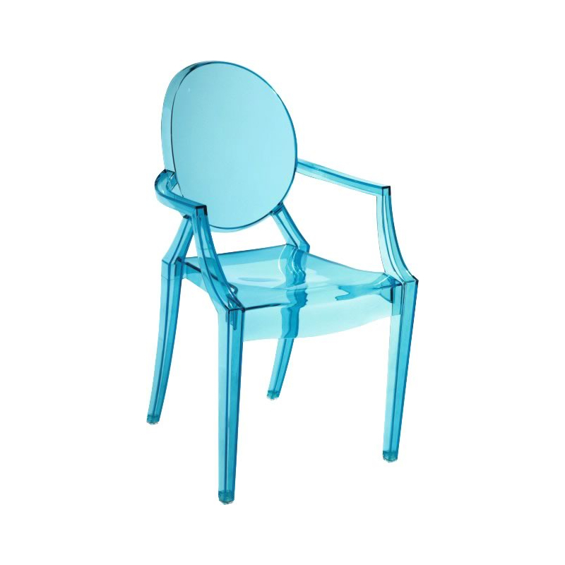 Dreamfurniture Com Baby Anime Chair Transparent Blue