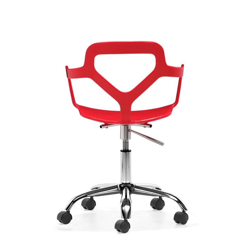 Angle Office Chair Red