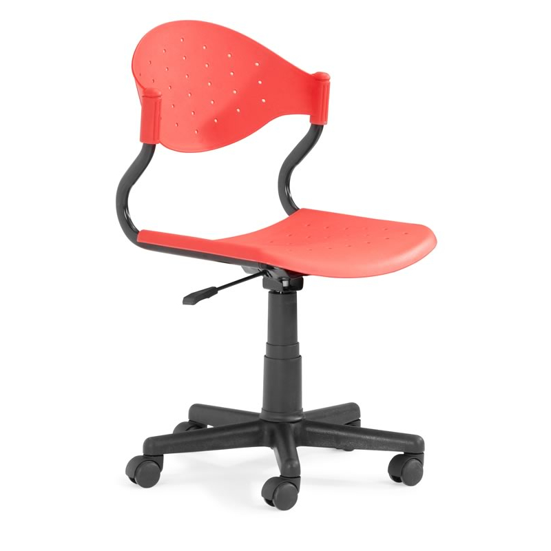 sarge office chair red