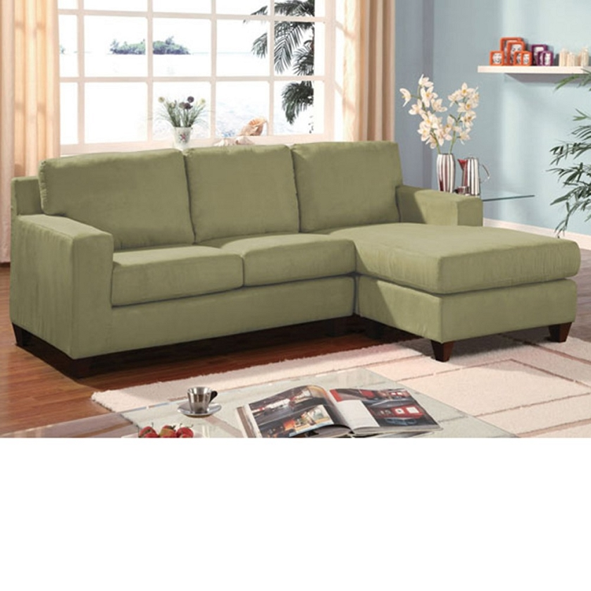 Dreamfurniture Com Pebble Finish Reversible Chaise Sectional