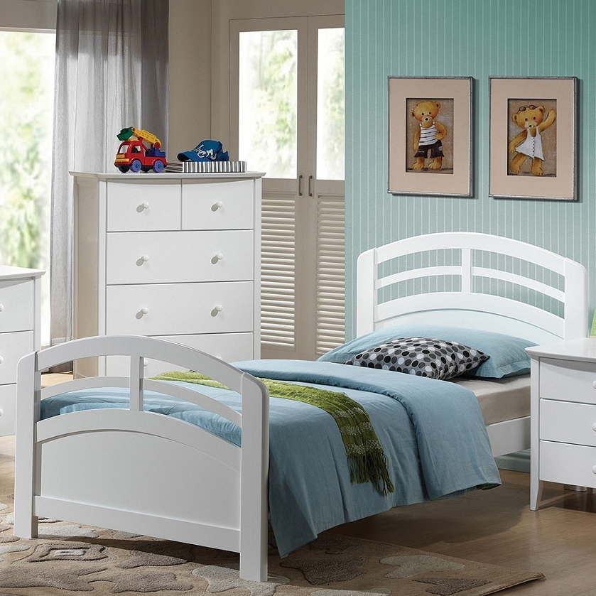 bedroom bedroom sets 19155 san marino white finish bedroom set