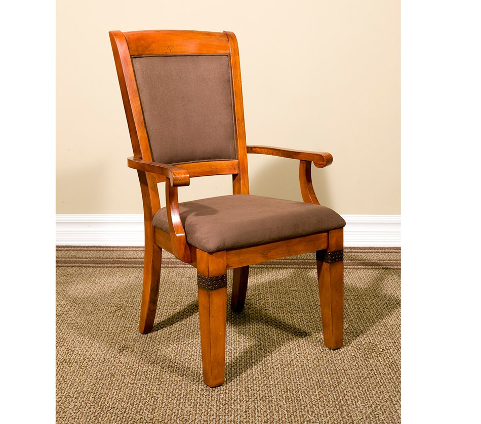 Dreamfurniture santa fe arm chair with microfiber