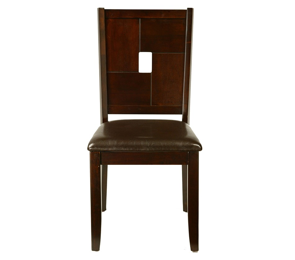 Lakeport Side Chair With Faux Leather Cushion Set Of 2
