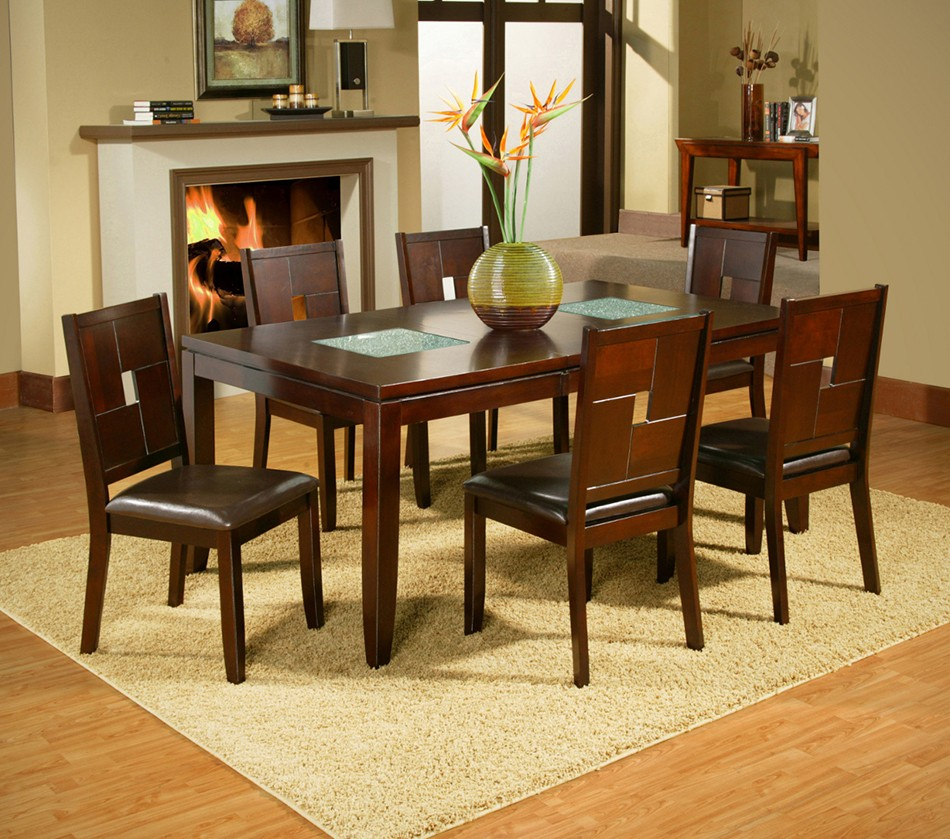 Dreamfurniture Com Lakeport Extension Dining Table With