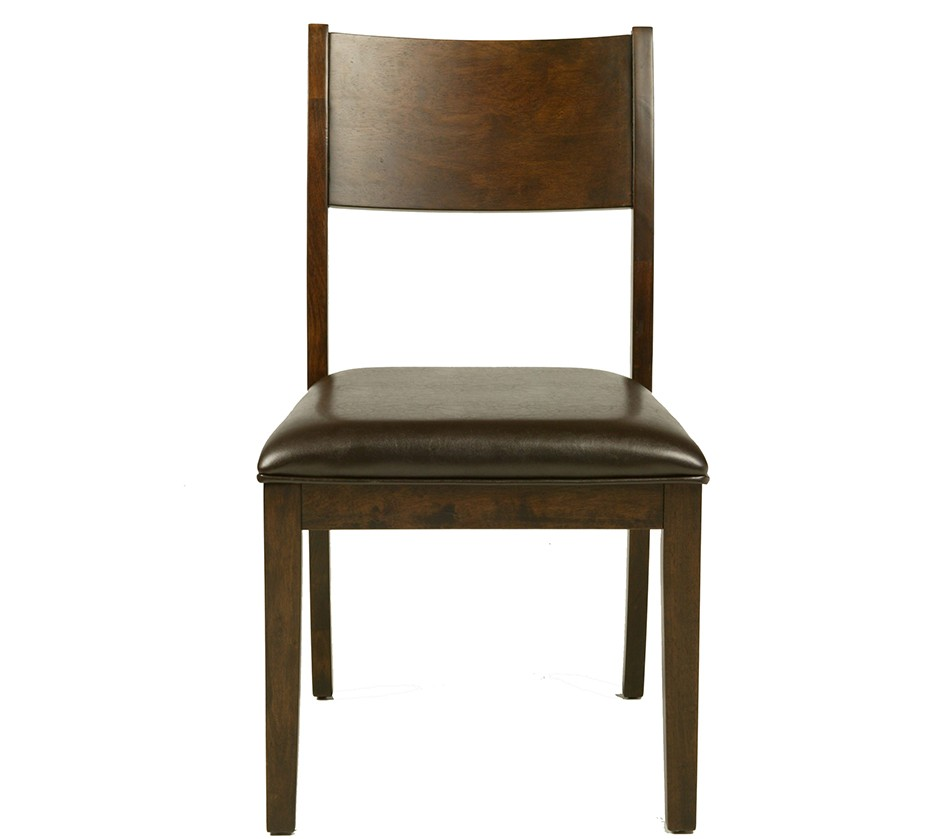 Medford Side Chair With Faux Leather Cushion Set Of 2