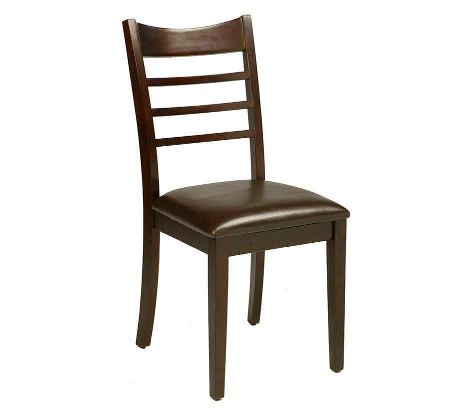 Berkeley Side Chair With Faux Leather Cushion Set Of 2
