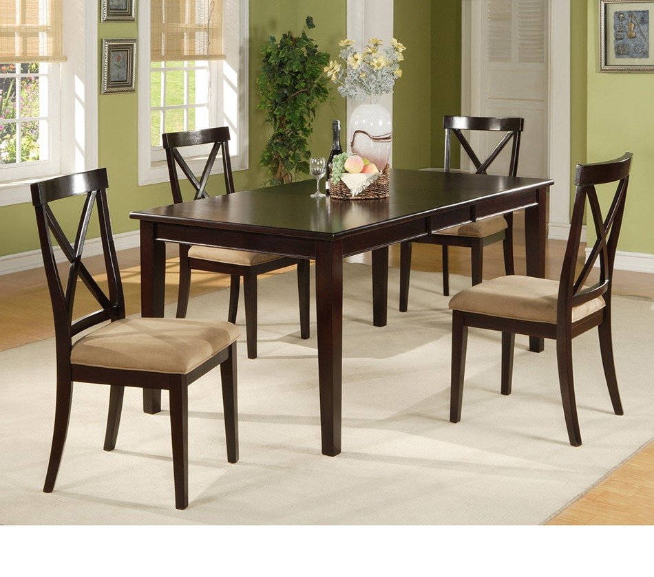Dining Room Tables With Extension Leaves: Jackson Dining Table With Extension Leaf