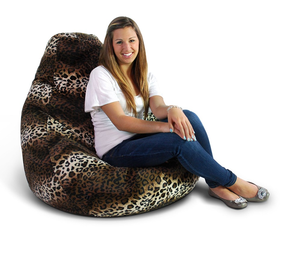 Excellent Animal Print Extra Large Pure Bead Bean Bag 30 1051 565 Ocoug Best Dining Table And Chair Ideas Images Ocougorg
