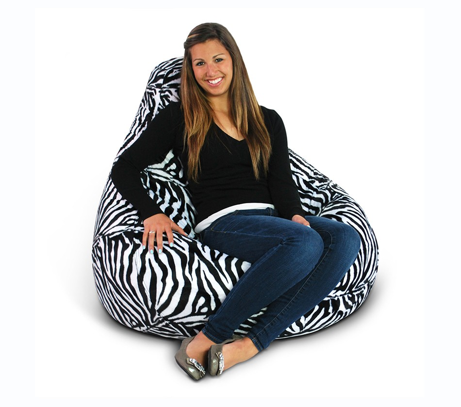 Sensational Animal Print Extra Large Pure Bead Bean Bag 30 1051 595 Ocoug Best Dining Table And Chair Ideas Images Ocougorg