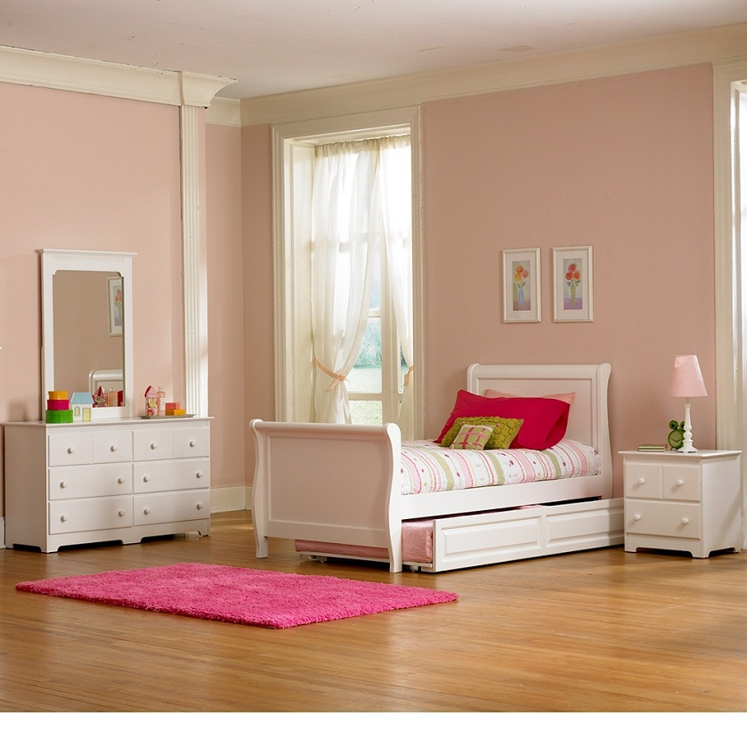 regal traditional 5 pc cherry sleigh bedroom set queen bed