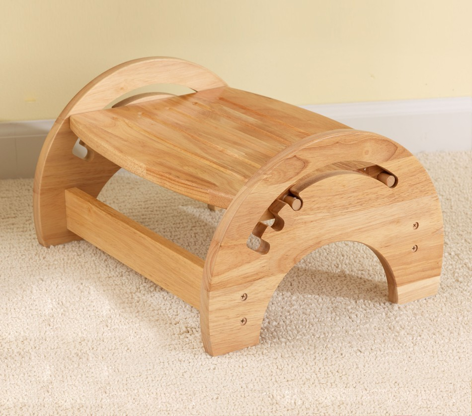 Dreamfurniture Com Adjustable Stool For Nursing Natural