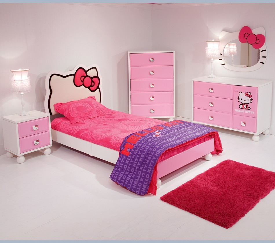 Kids Bedroom > Bedroom In A Box > Hello Kitty® Bedroom In A Box+Chest ...