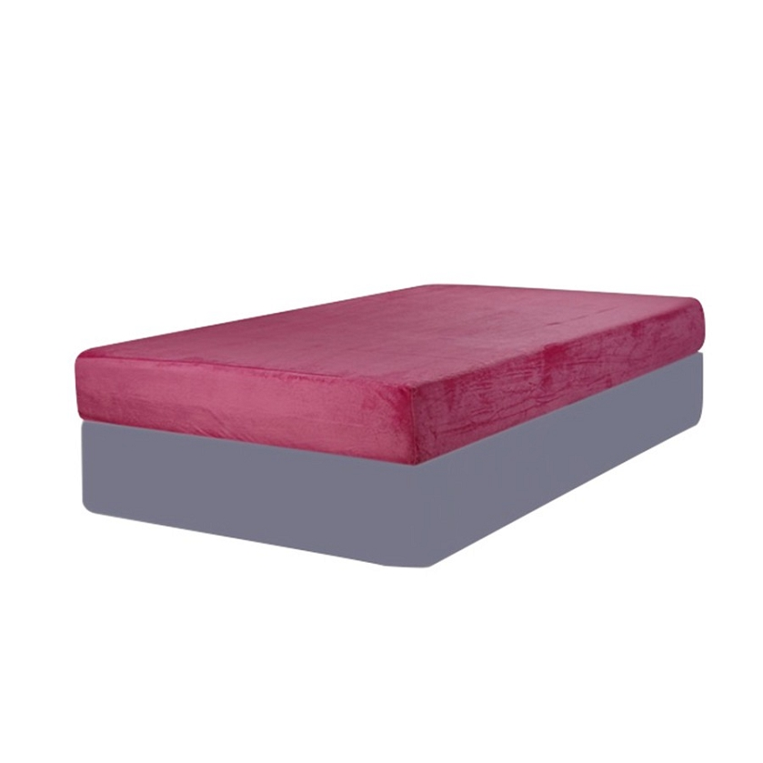 DreamFurniture Pink Cool Twin Size Mattress