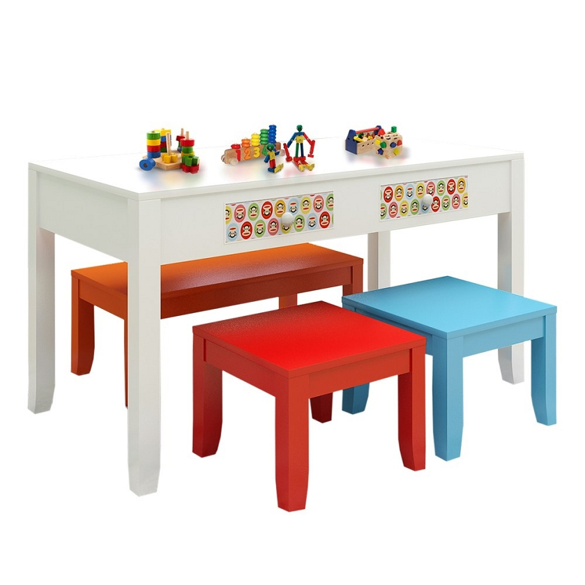 Paul Frank®Table + 2 Stools + Bench