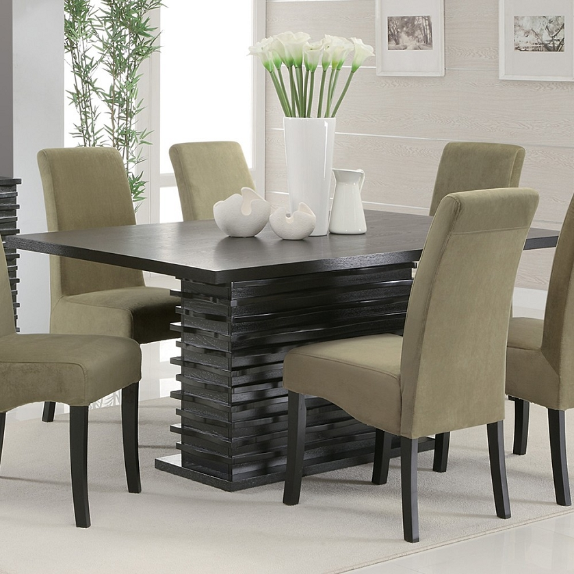 32 Stylish Dining Room Ideas To Impress Your Dinner Guests: 102061 Stanton Contemporary Dining Table