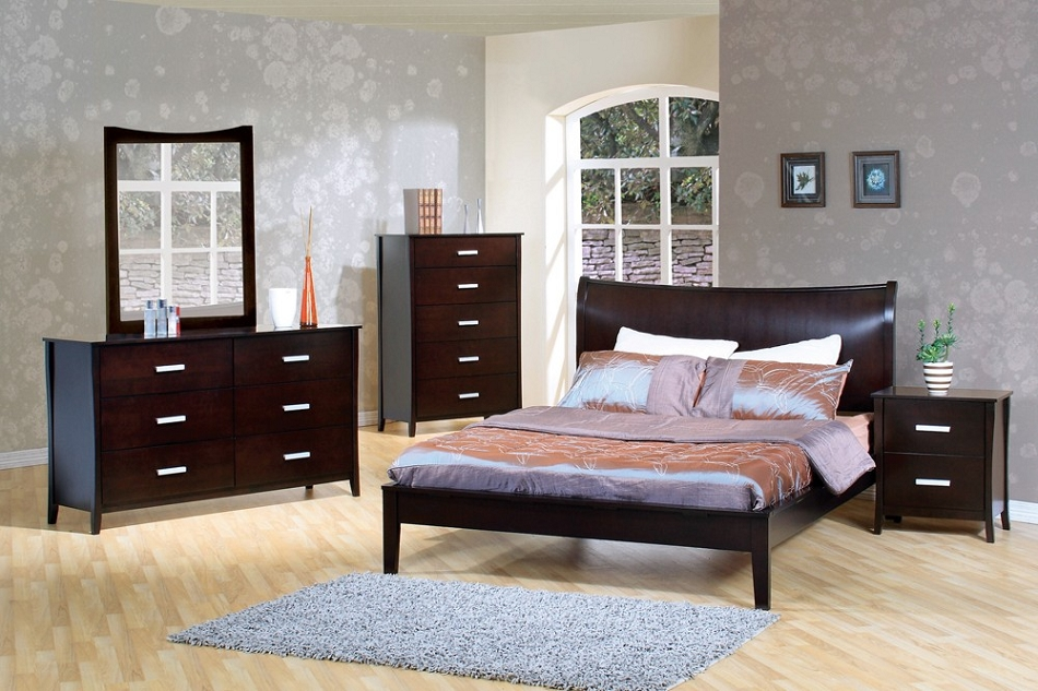 Bedroom Sets 200300q Stuart Contemporary Platform Bedroom Set