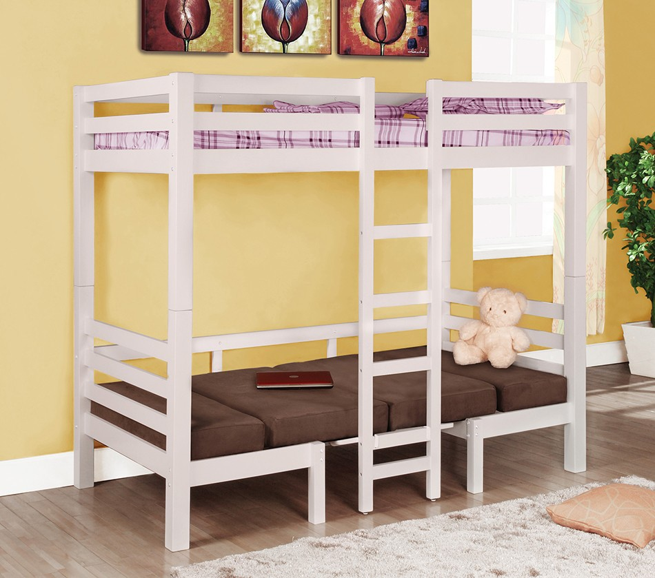 5 Cool Cribs That Convert To Full Beds: 460273 Bunks Twin Over Twin