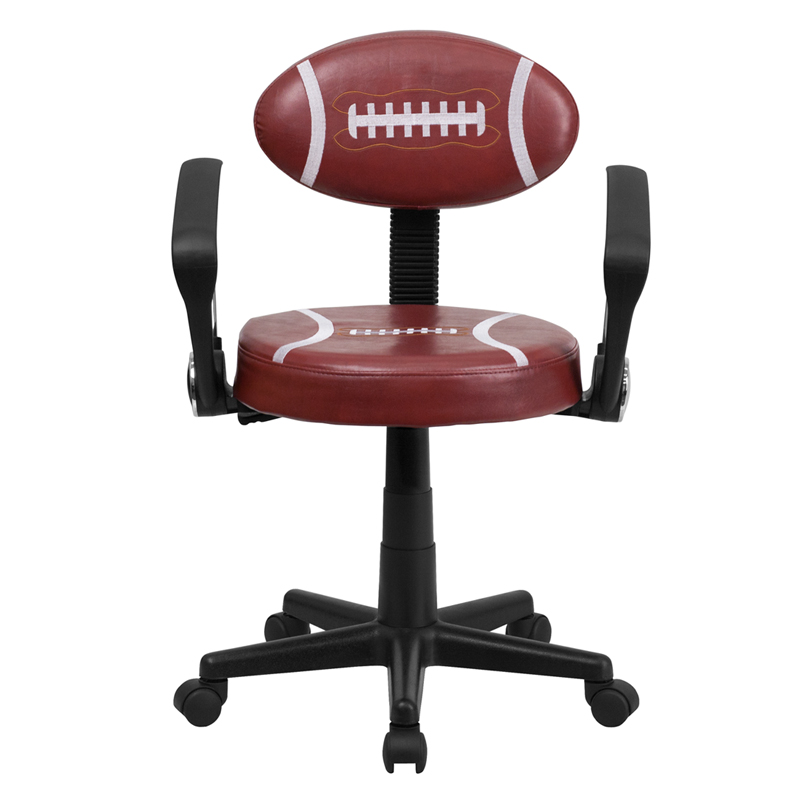 Dreamfurniture Com Football Task Chair With Arms Bt