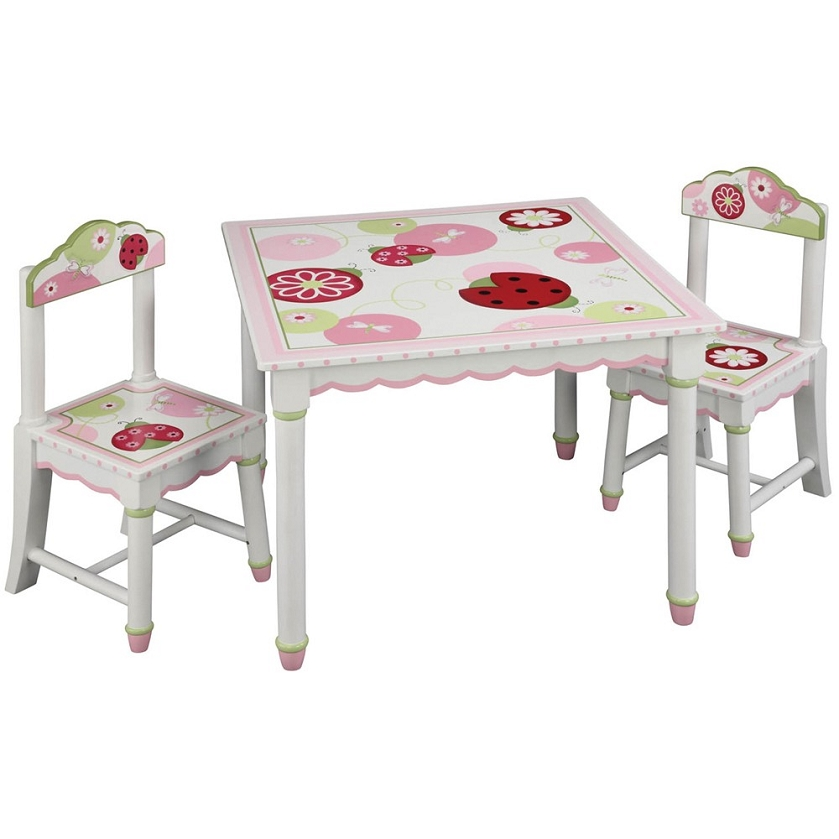 Lambs Ivy Sweetiepie Table Chairs