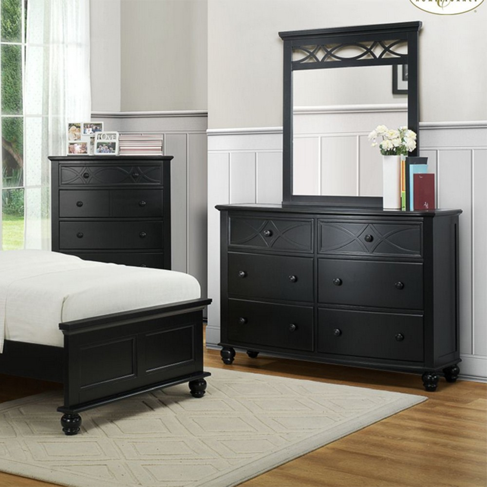 2119tb sanibel bedroom set black