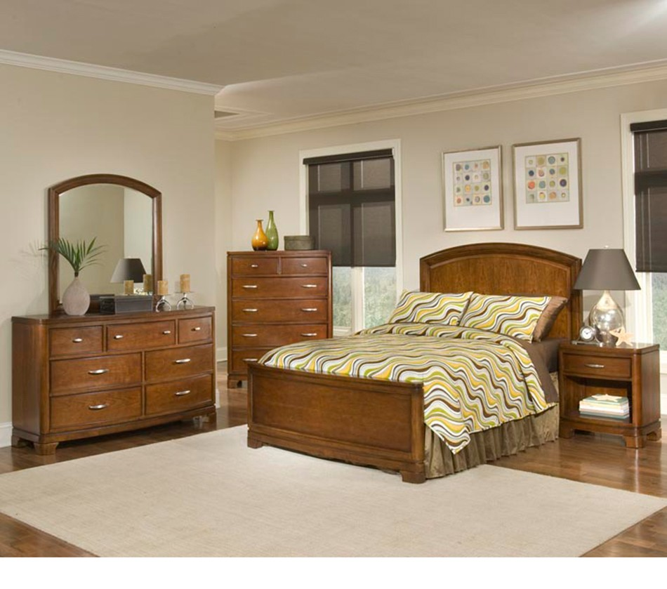 Beach Bedroom Set: Newport Beach Panel Bedroom Set