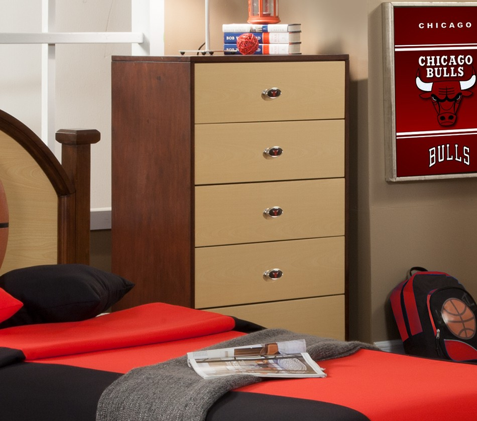 Bedroom Furniture Chicago: NBA Basketball Chicago Bulls Chest Of