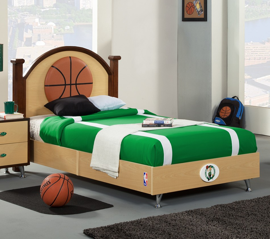 . DreamFurniture com   NBA Basketball Boston Celtics Bedroom In A Box