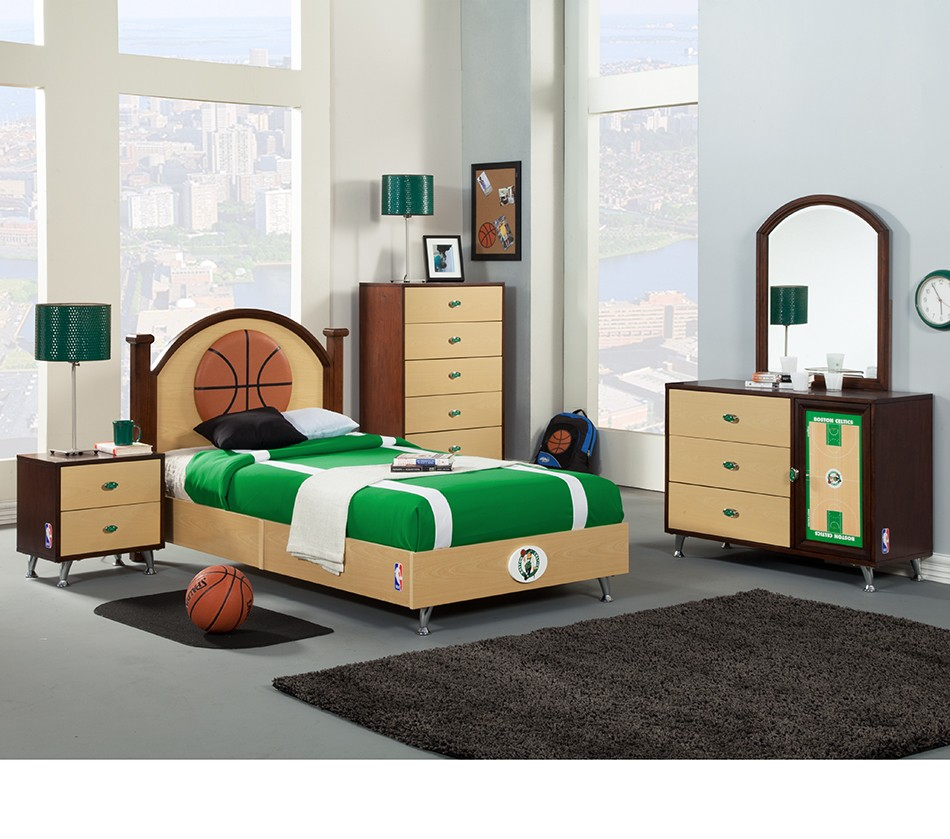 Dreamfurniture Com Nba Basketball Boston Celtics Bedroom
