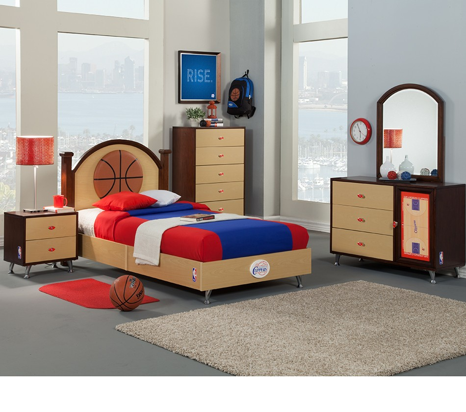 NBA Basketball Los Angeles Clippers Bedroom In A Box