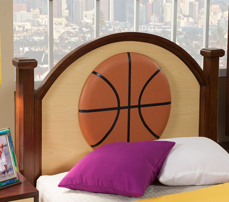 DreamFurniture NBA Basketball Los Angeles Lakers Twin Bed – Lakers Bedroom