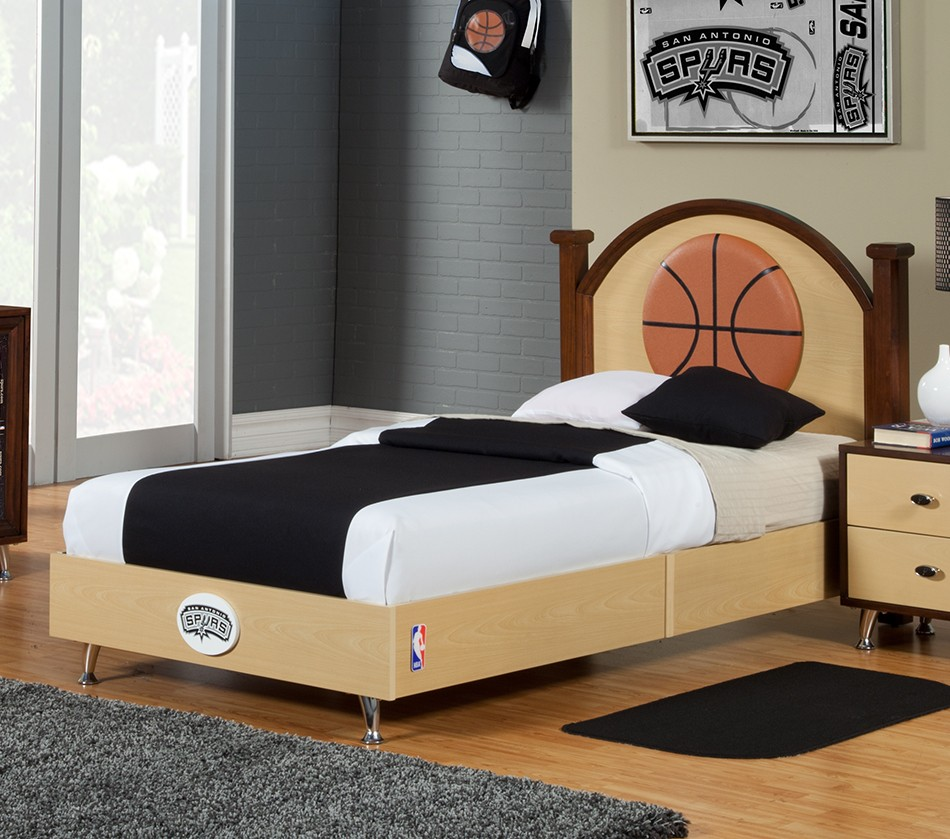 Nba Basketball San Antonio Spurs Twin Bed