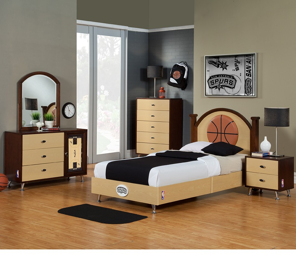 Nba basketball san antonio spurs for Rooms to go kids san antonio