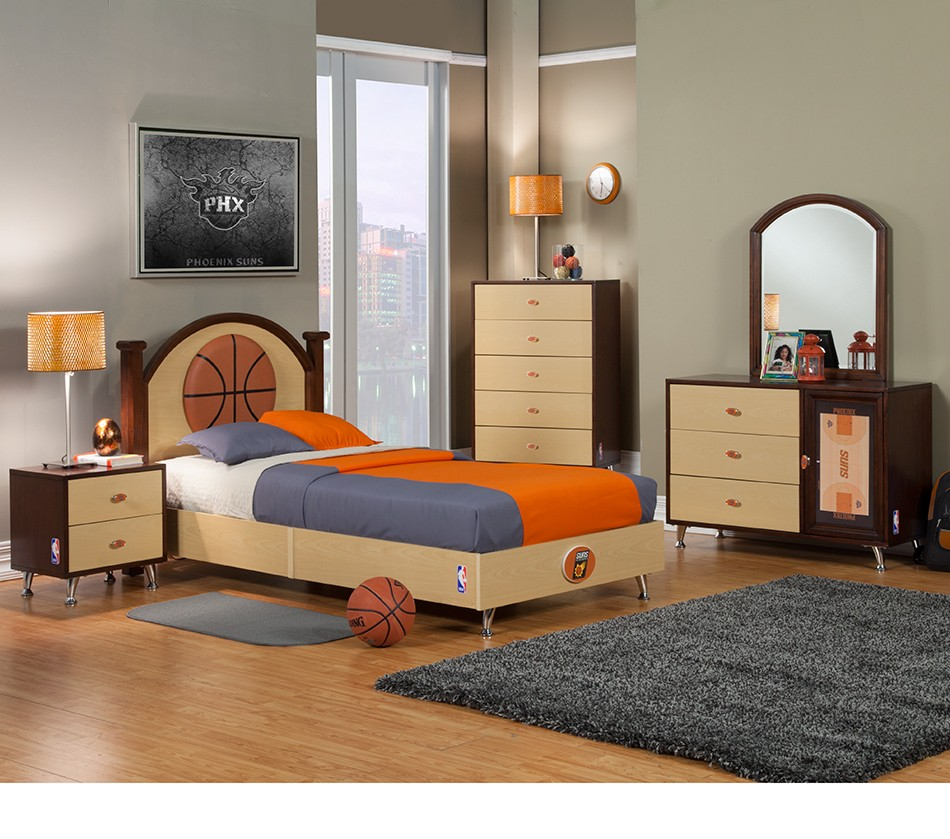 NBA Basketball Phoenix Suns Bedroom
