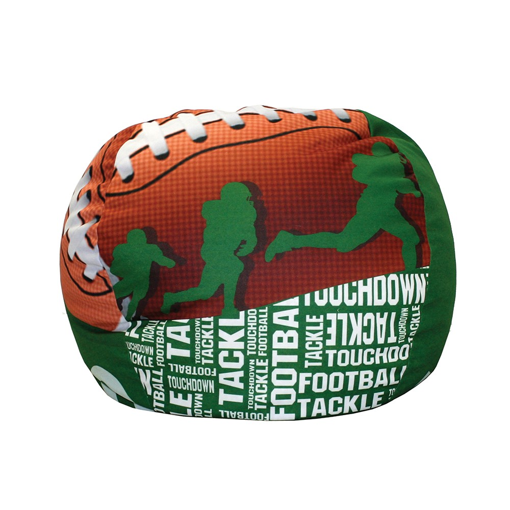 Dreamfurniture Com Football 50 Yard Line Bean Bag