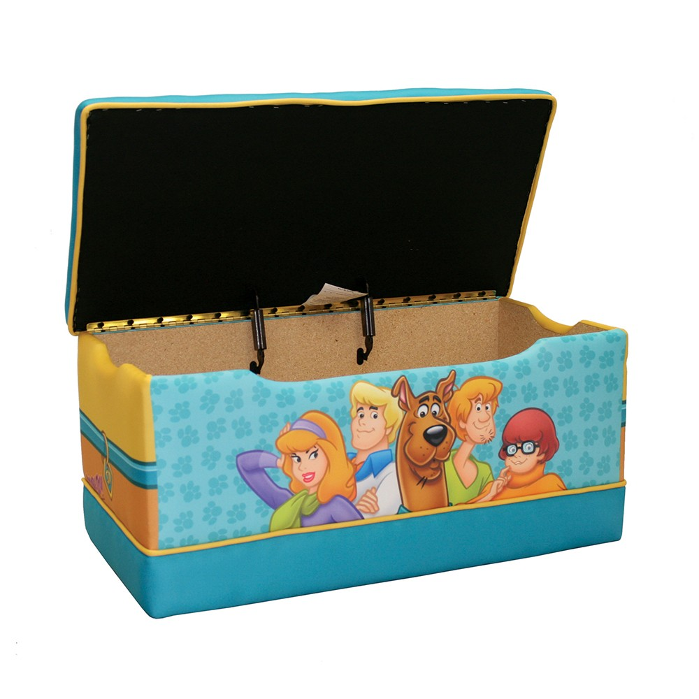 Dreamfurniture Com Scooby Doo Paws Deluxe Toy Box