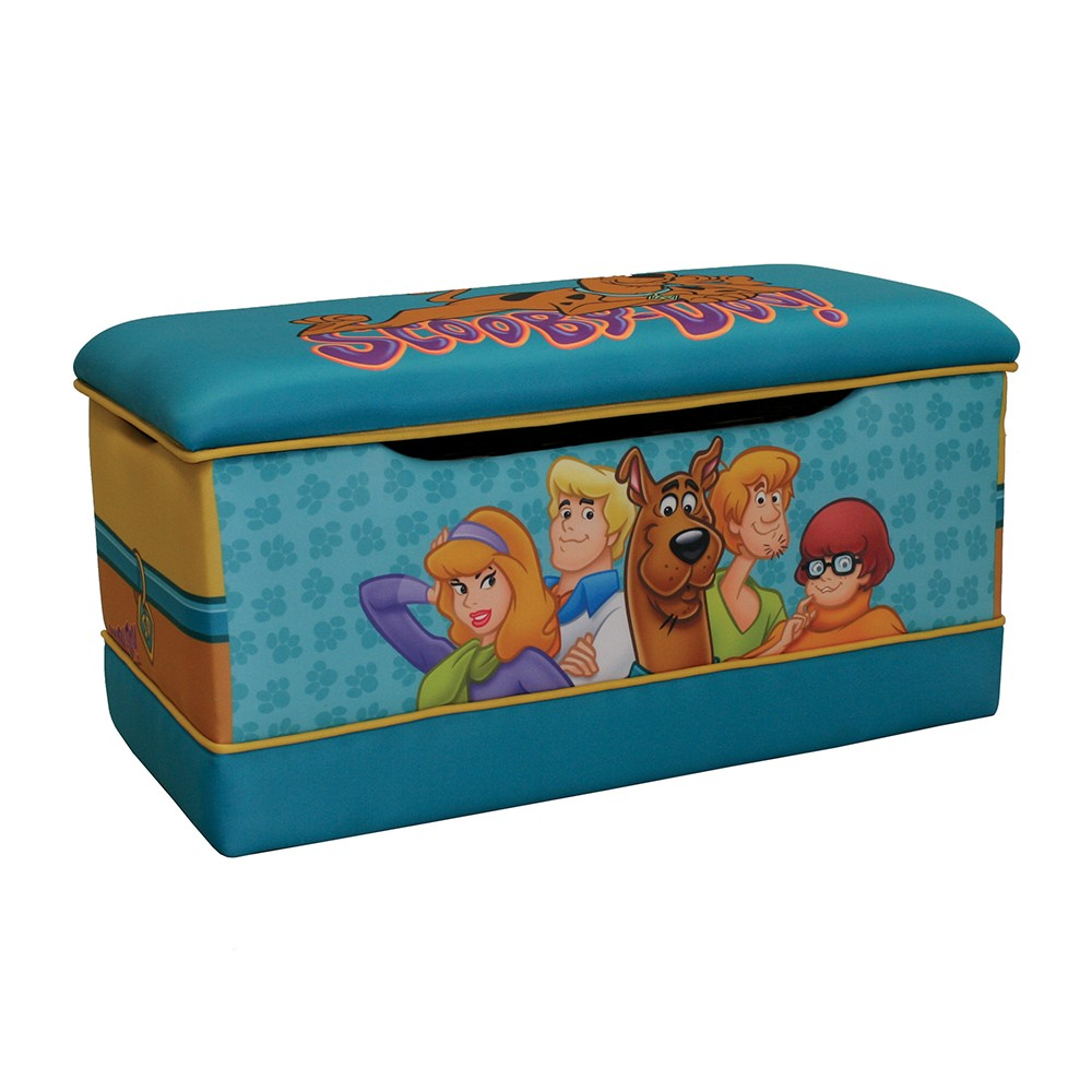 Scooby Doo Bedroom Accessories Dreamfurniturecom Scooby Doo Paws Deluxe Toy Box
