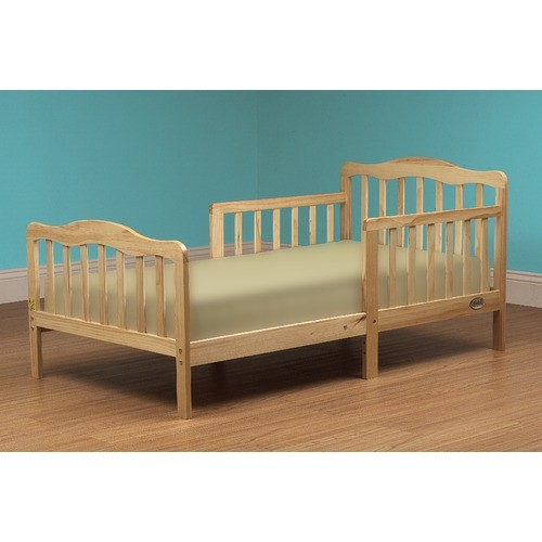 finest selection b2e64 46142 408N Sleepy Time Toddler Bed and Lounger Natural