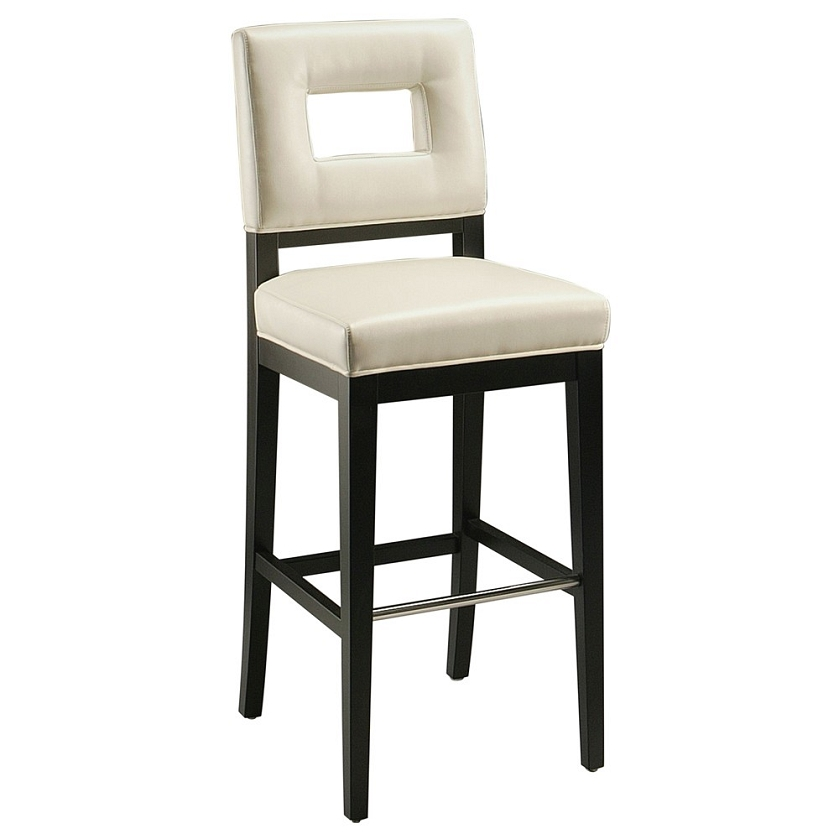 DreamFurniturecom Hajime 30quot Barstool in ballarat black  : hj 210 ss bb 840 from www.dreamfurniture.com size 839 x 839 jpeg 127kB