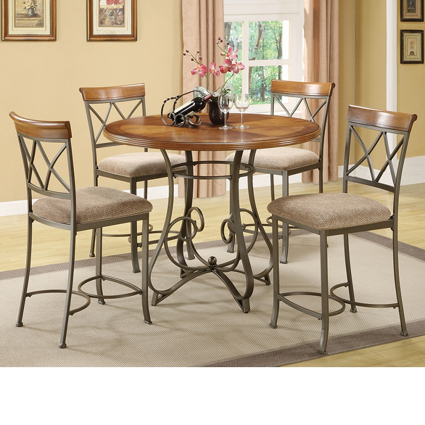 Dreamfurniture Com 697 441m2 5 Pieces Hamilton Gathering Set
