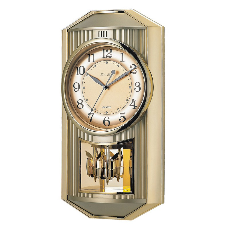 Dreamfurniture Com Melodies In Motion Wall Clock